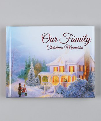 Christmas Record-a-Memory Photo Journal Padded Board Book