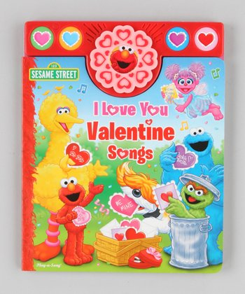 Sesame Street: I Love You Valentine Songs Sound Board Book