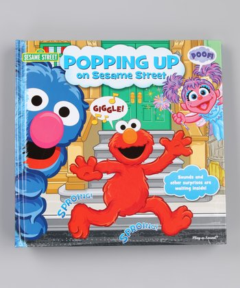 Popping Up on Sesame Street Pop-Up Hardcover