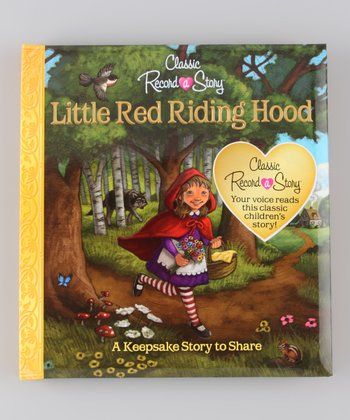 Record a Story Little Red Riding Hood Padded Board Book