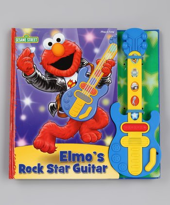 Elmo's Rock Star Guitar Board Book