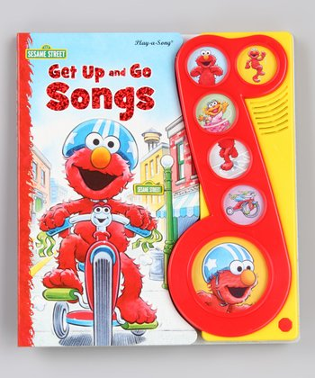 Sesame Street: Get Up and Go Songs Board Book