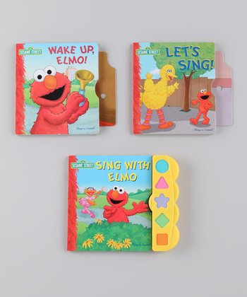 Play-a-Sound: Sesame Street Board Book Set