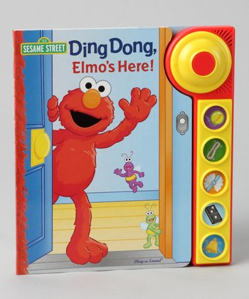 Ding Dong, Elmo's Here! Board Book