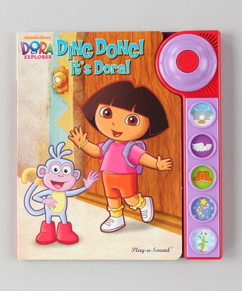 Ding Dong! It's Dora! Board Book
