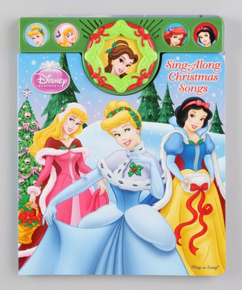 Disney Princess Sing-Along Christmas Songs Board Book
