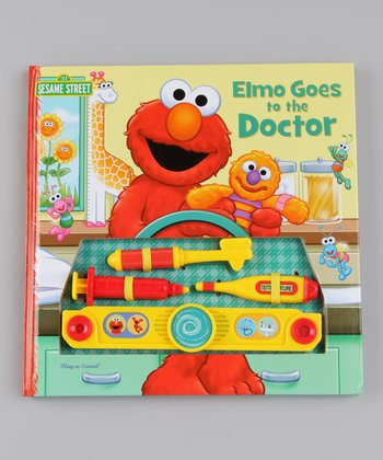 Elmo Doctor Board Book & Toys