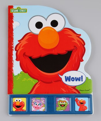 Giant First Play-A-Sound: Elmo Board Book