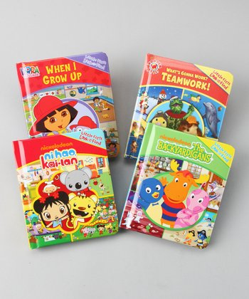 Nickelodeon Board Book Set