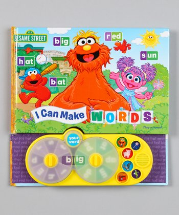 I Can Make Words Board Book