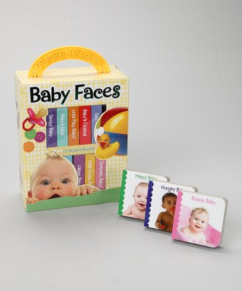 My First Library: Baby Faces Board Book Set