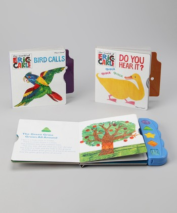 Eric Carle Play-a-Sound Board Book Set