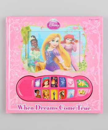 When Dreams Come True Lenticular Sound Board Book