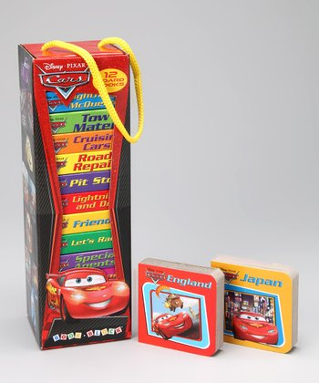 Cars My First Book Block Tower Board Book Set