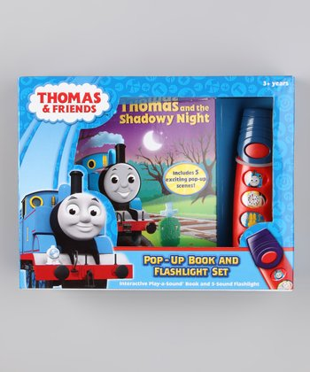 Thomas and the Shadowy Night Sound Pop-Up Hardcover & Flashlight