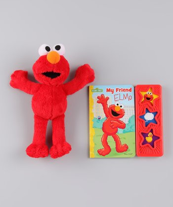 My Friend Elmo Musical Board Book & Plush Toy