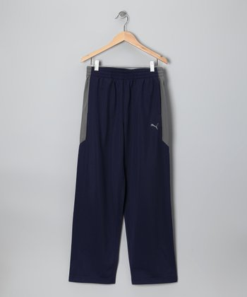 Peacoat Navy Tricot Track Pants - Toddler & Boys