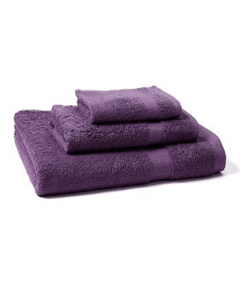 Purple Towel Set