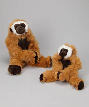 Mango & Baby Mango Gibbon Monkey Plush Set