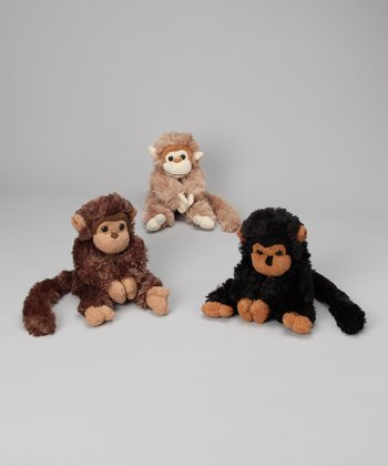 12.5'' Spider Monkey Plush Toy Set