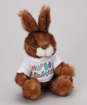 Purr-fection Brown Tender Friend Bunny Plush Toy