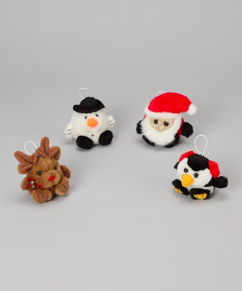 Purr-fection Holiday Cushy Kid Plush Toy Set
