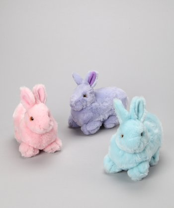 Purr-fection Large Bunny Plush Toy Set