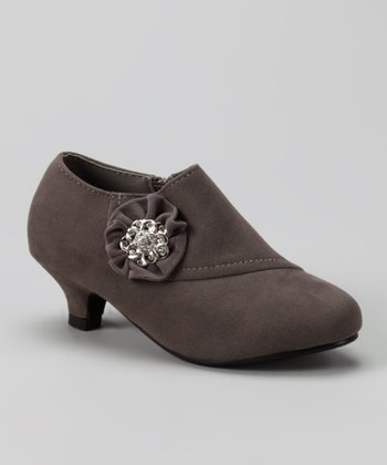 Gray Holiday 101 Bootie