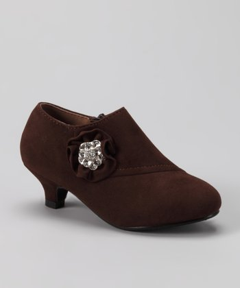 Brown Holiday 101 Bootie