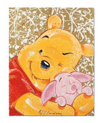 Very Important Piglet Limited-Edition Serigraph Print