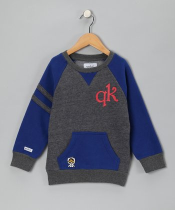 Blue Crewneck Sweatshirt - Toddler & Boys