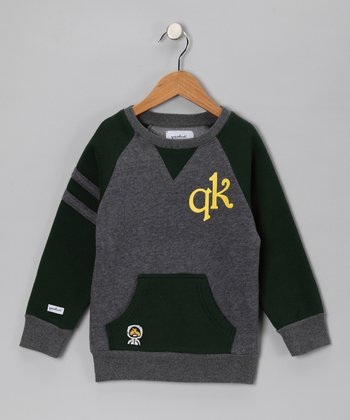 Green Crewneck Sweatshirt - Toddler & Boys