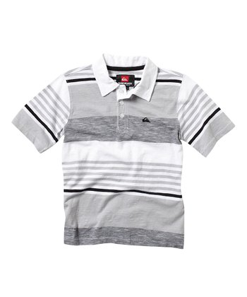 White Conners Polo - Toddler