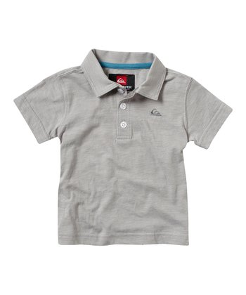 Gray Granted Polo - Toddler