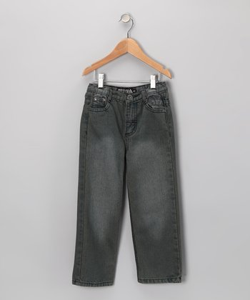 Gray Fade Fashion Jeans - Toddler & Boys