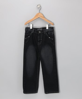 Indigo Fade Fashion Jeans - Toddler