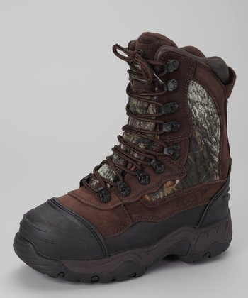 Mocha Waterproof Blizzardstalker All-Terrain Shoe - Kids