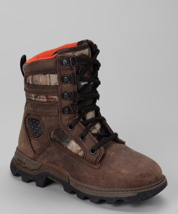 Brown Waterproof Mountain Stalker All-Terrain Shoe