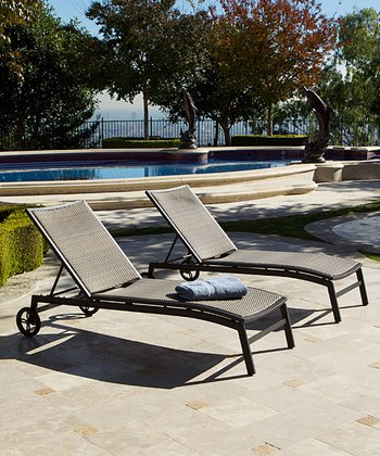 Zen Chaise Lounger - Set of Two