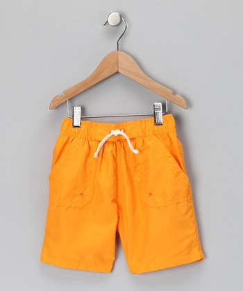 Gold Classic Boardshorts - Toddler