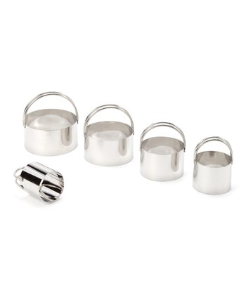 Five-Piece Biscuit Cutter Set