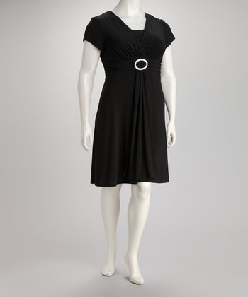 Black Classic Dress - Plus