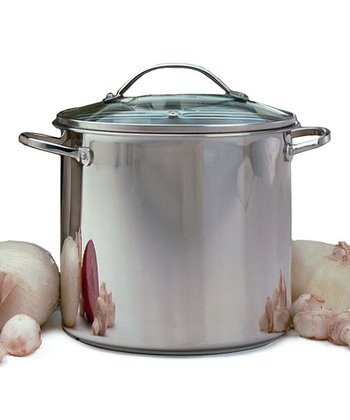 12-Qt. Covered Stockpot