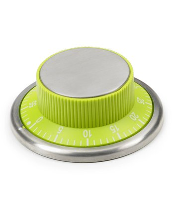 Green Magnetic Kitchen Timer