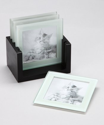 Picture Purrfect Photo Coaster Set