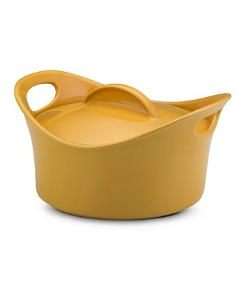 Yellow 2.75-Qt. Casserround Covered Baking Dish