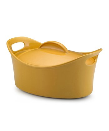 Yellow 4.25-Qt. Casseroval Covered Baking Dish
