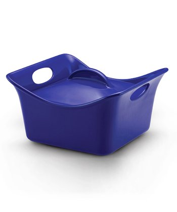 Blue 3.5-Qt. Covered Square Dish