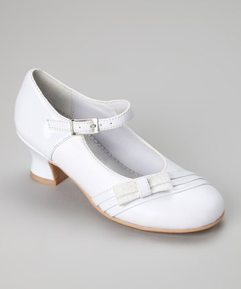 White Patent Florence Mary Jane