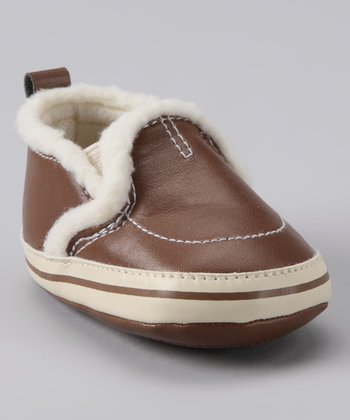 Rainbow Kids Brown Slip-On Shoe